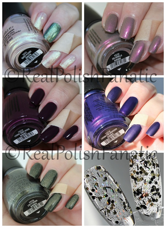 China Glaze Happily Never After Halloween 2017 Collection
