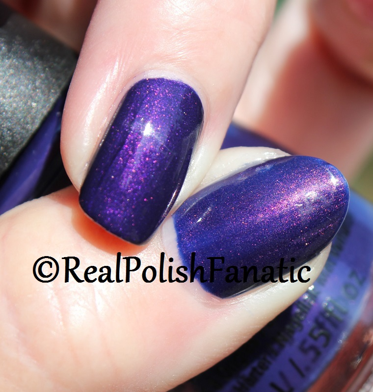 Comparison -- China GLaze Crown for Whatever VS OPI Turn On the Northern Lights (9)