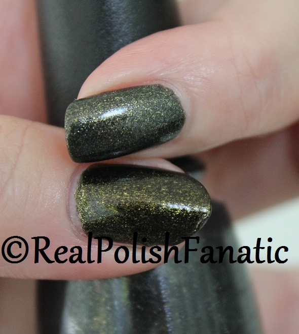 Comparison -- China Glaze Life's Grimm VS Cast A Spell (2)