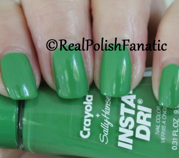 Sally Hansen - Granny Smith Apple -- Summer 2017 Crayola Collection (4)