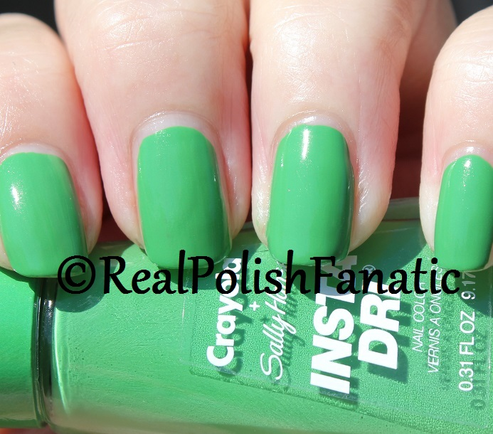 Sally Hansen - Granny Smith Apple -- Summer 2017 Crayola Collection (9)