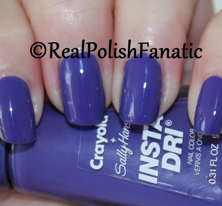 Sally Hansen - Purple Heart -- Summer 2017 Crayola Collection (1)
