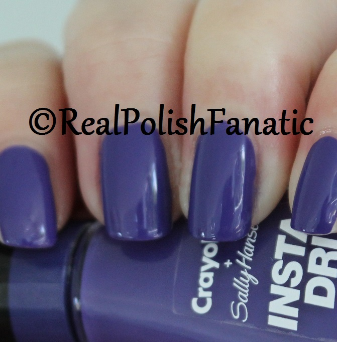 Sally Hansen - Purple Heart -- Summer 2017 Crayola Collection (3)