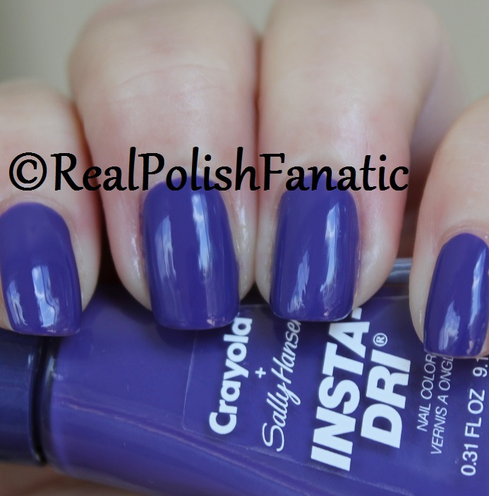 Sally Hansen - Purple Heart -- Summer 2017 Crayola Collection (5)