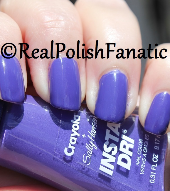 Sally Hansen - Purple Heart -- Summer 2017 Crayola Collection (7)