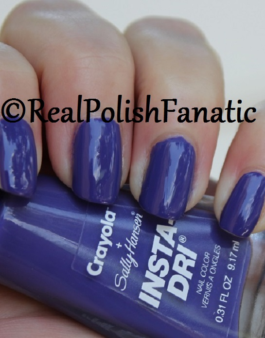 Sally Hansen - Purple Heart -- Summer 2017 Crayola Collection (9)
