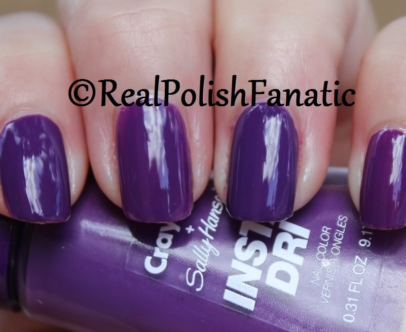 Sally Hansen - Vivid Violet -- Summer 2017 Crayola Collection (10)