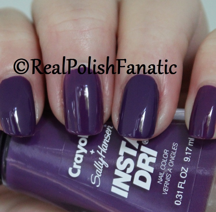 Sally Hansen - Vivid Violet -- Summer 2017 Crayola Collection (4)