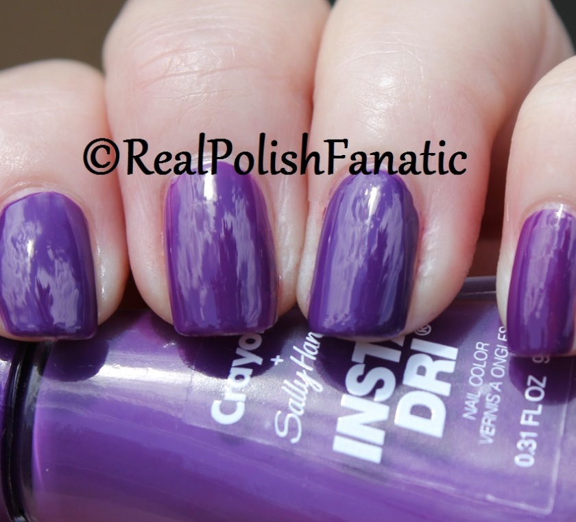 Sally Hansen - Vivid Violet -- Summer 2017 Crayola Collection (8)