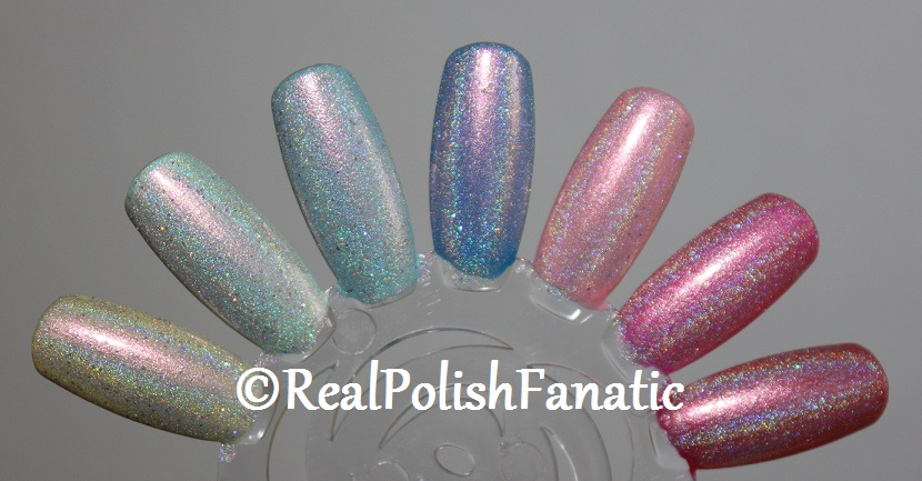 Tonic Polish One Million Flowers over China Glaze My Little Pony Cremes and Shimmers (2)