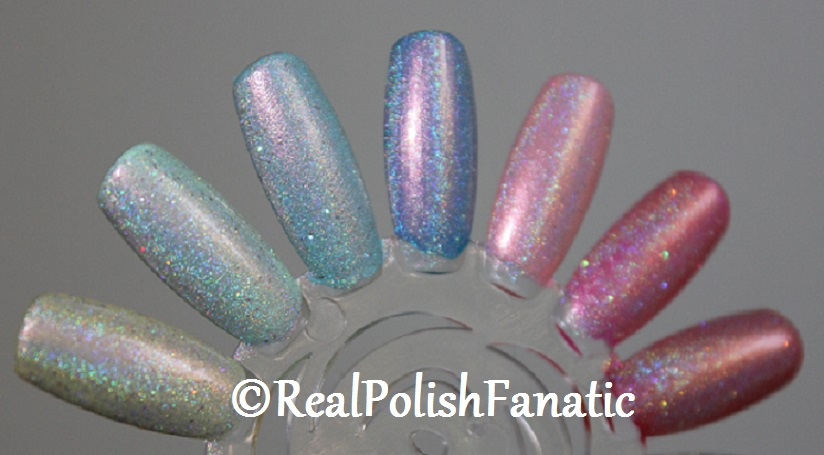 Tonic Polish One Million Flowers over China Glaze My Little Pony Cremes and Shimmers (3)