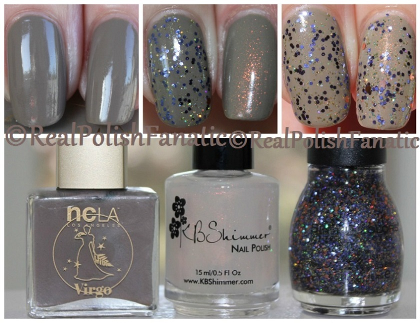 NCLA Virgo & KBShimmer You Dew You & Sinful Colors If You Got It Haunt It