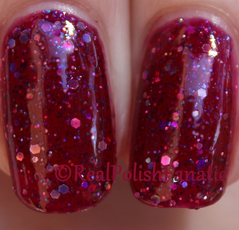 Black Cat Lacquer - Cosmic Cranberry (23)