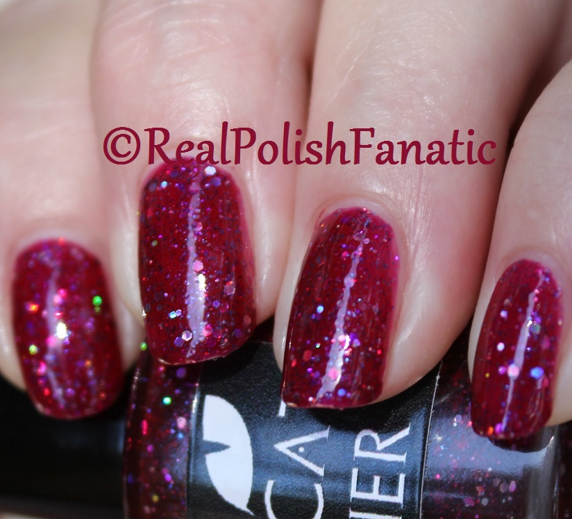 Black Cat Lacquer - Cosmic Cranberry (25)