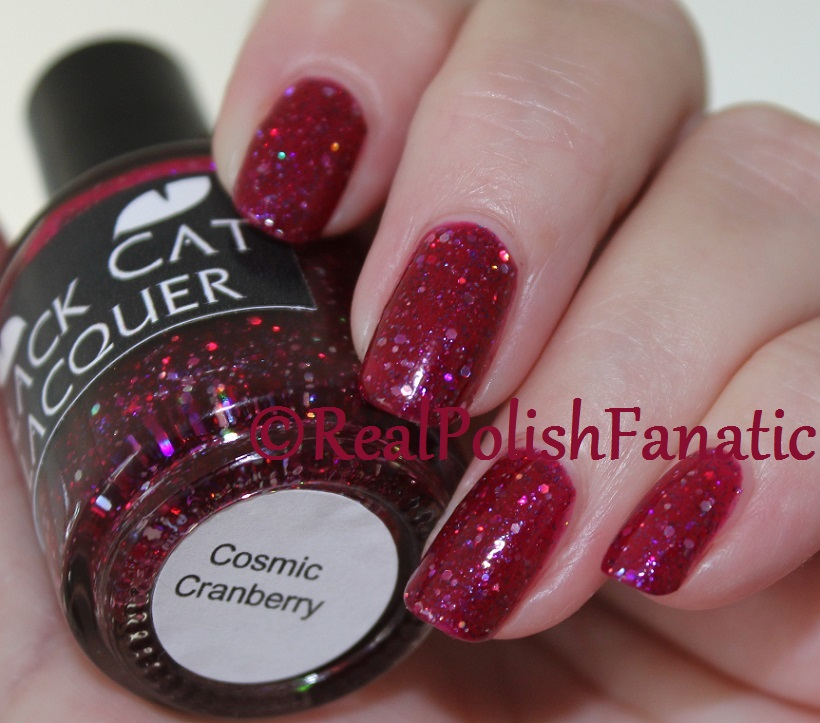 Black Cat Lacquer - Cosmic Cranberry (6)