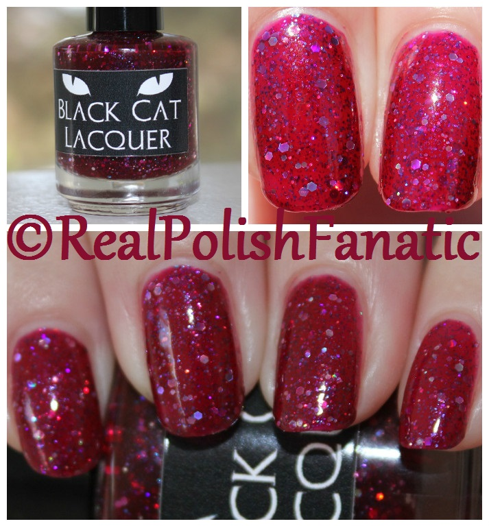 Black Cat Lacquer - Cosmic Cranberry