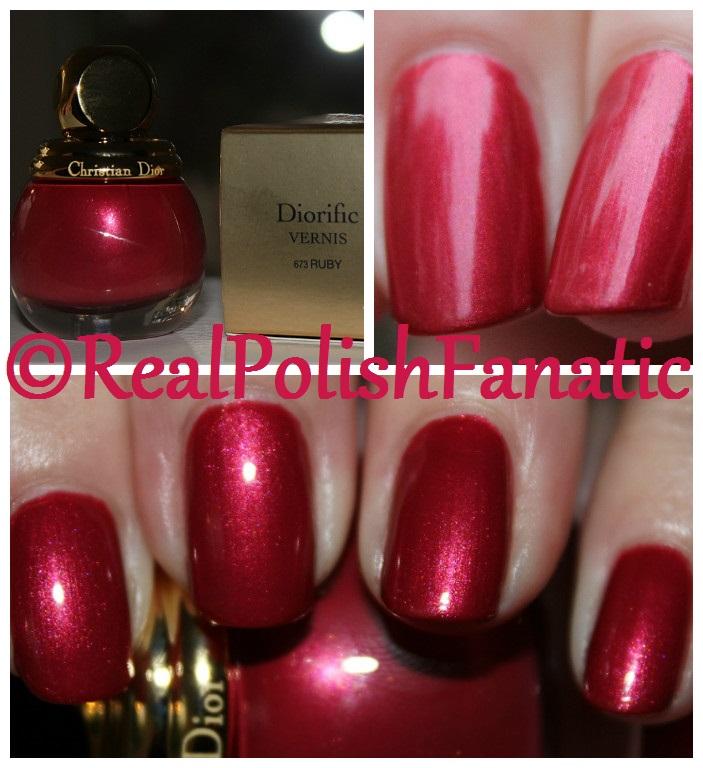 Dior Diorific Ruby -- Holiday 2017 Precious Rocks Collection