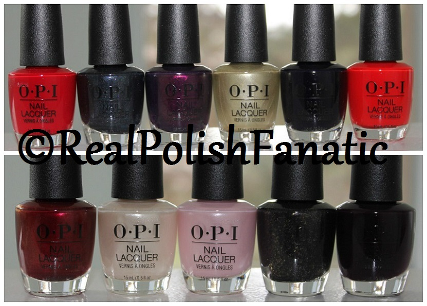 OPI XOXO Holiday 2017 Collection