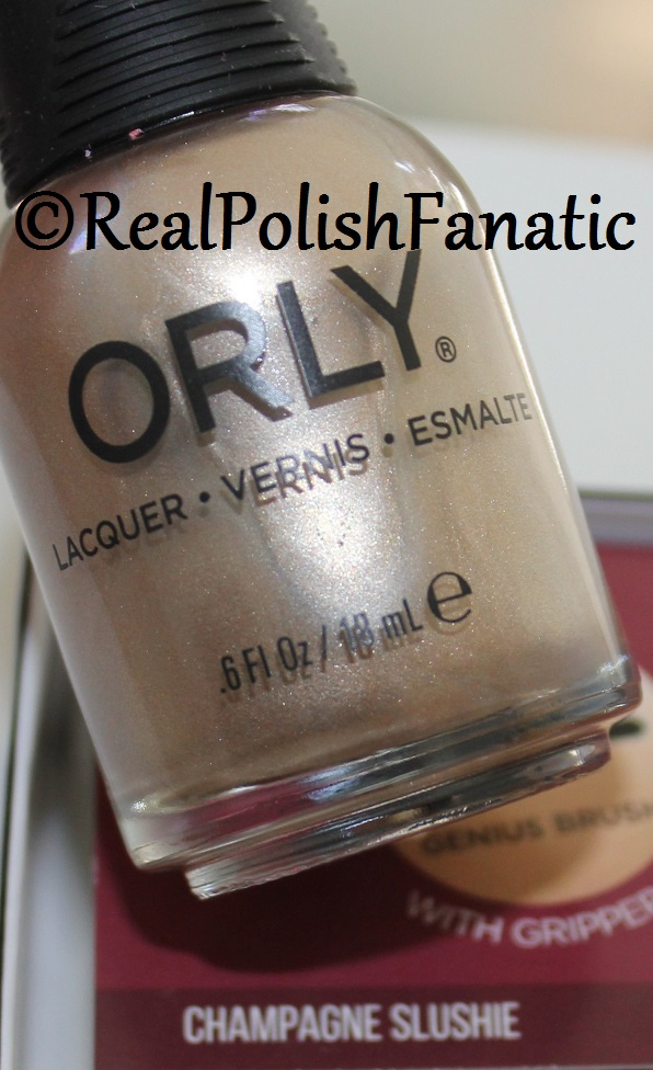 Orly Champagne Slushie - Color Pass Holiday 2017 Darlings of Defiance (6)