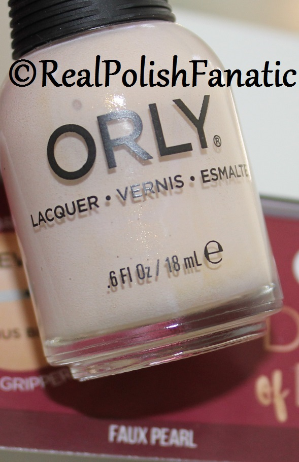 Orly Faux Pearl - Color Pass Holiday 2017 Darlings of Defiance (7)