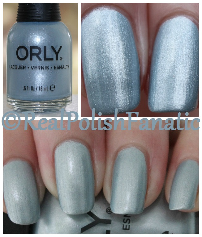 Orly - Once In A Blue Moon -- Holiday 2017 Darlings of Defiance Collection