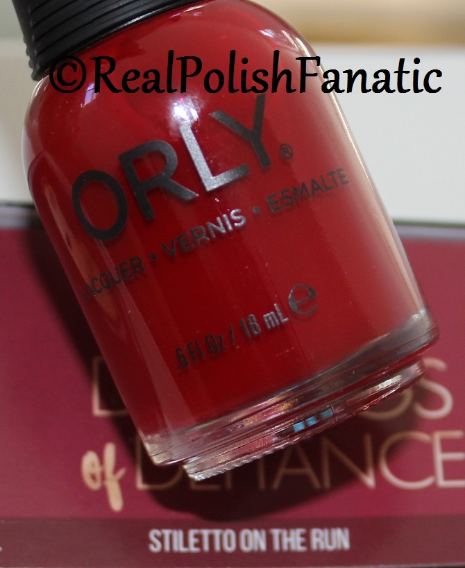Orly Stiletto On the Run - Color Pass Holiday 2017 Darlings of Defiance (8)