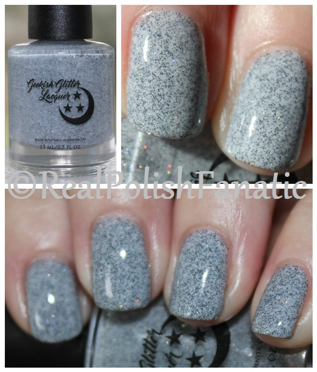 Geekish Glitter Lacquer - Only 365 Days Until Next Halloween