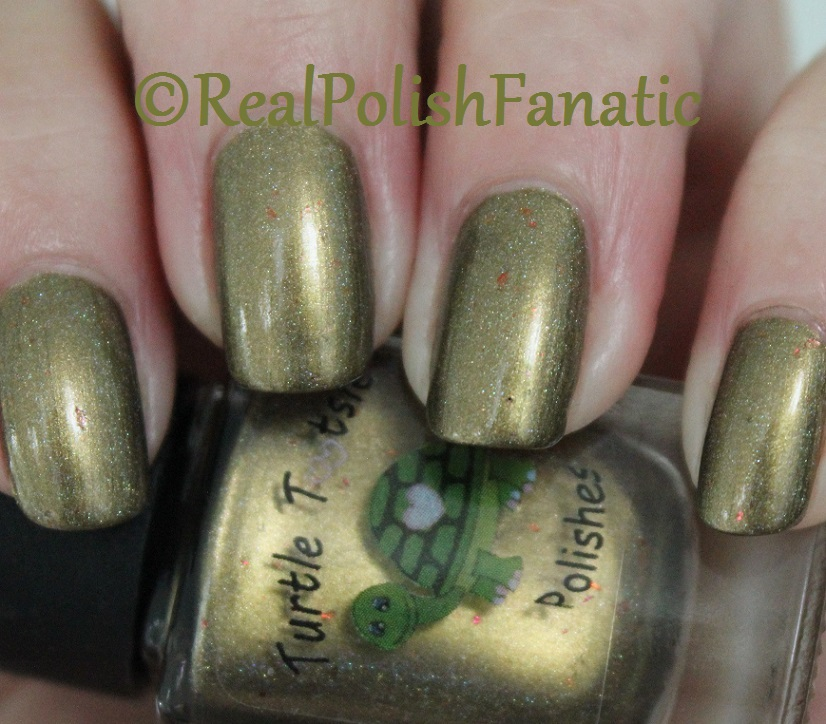 Turtle Tootsie - Scattered Leaves -- Fall 2017 Seasonal Indie Box (10)