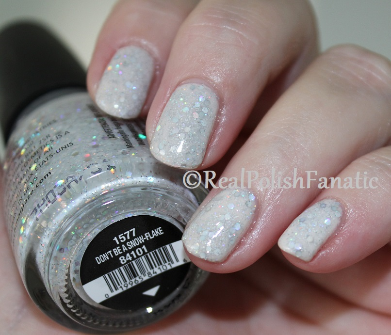 China Glaze _ Don't Be A Snow-flake -- Holiday 2017 The Glam Finale Collection (6)
