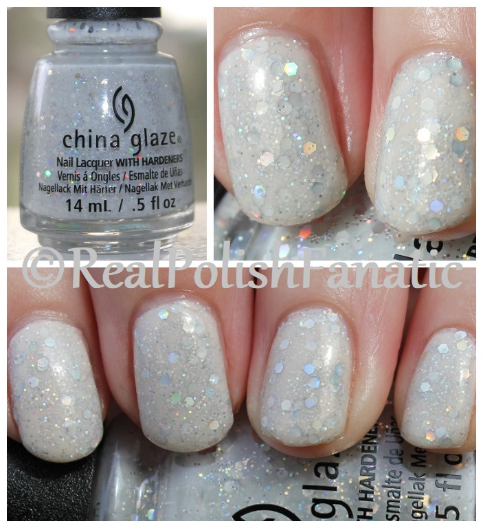 China Glaze _ Don't Be A Snow-flake -- Holiday 2017 The Glam Finale Collection