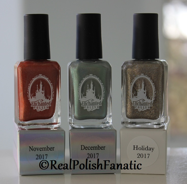 Enchanted Polish Monthly Mysteries - November 2017, December 2017, Holiday 2017 (1)