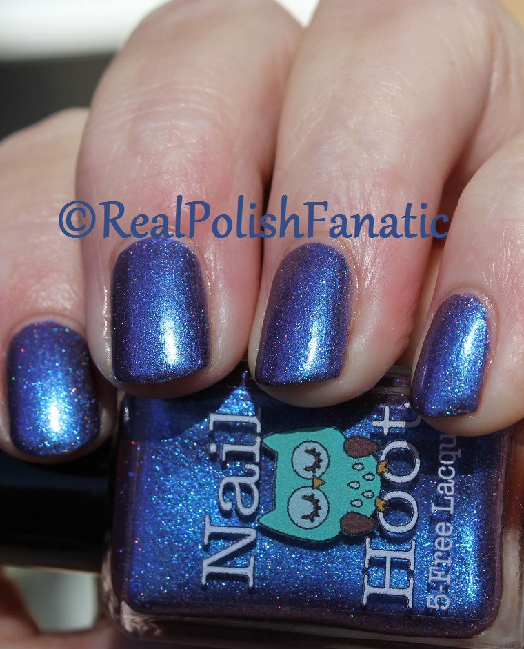 Nail Hoot Lacquer - O Holy Night (17)