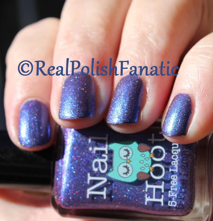 Nail Hoot Lacquer - O Holy Night (20)