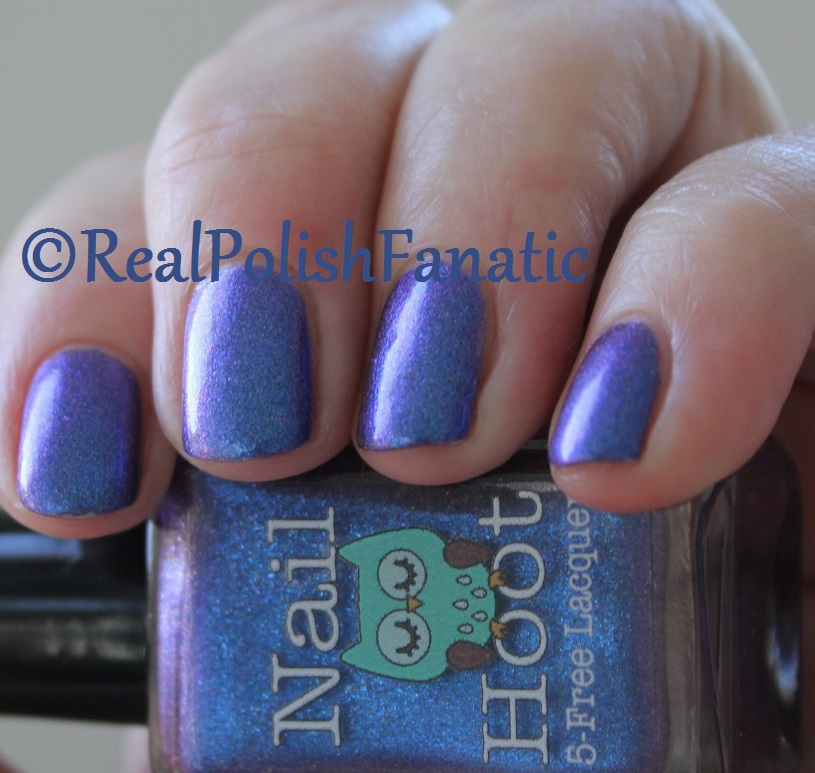Nail Hoot Lacquer - O Holy Night (31)