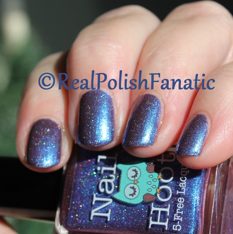 Nail Hoot Lacquer - O Holy Night (35)