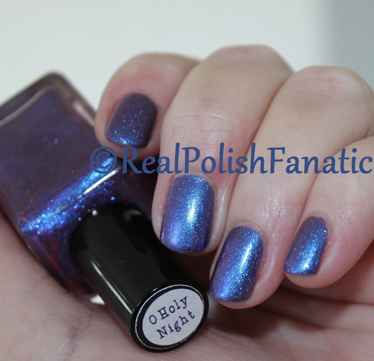 Nail Hoot Lacquer - O Holy Night (7)
