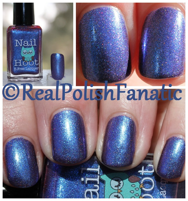 Nail Hoot Lacquer - O Holy Night