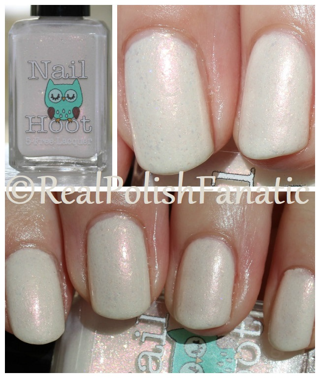 Nail Hoot - Pearl June -- Birthstone Collection