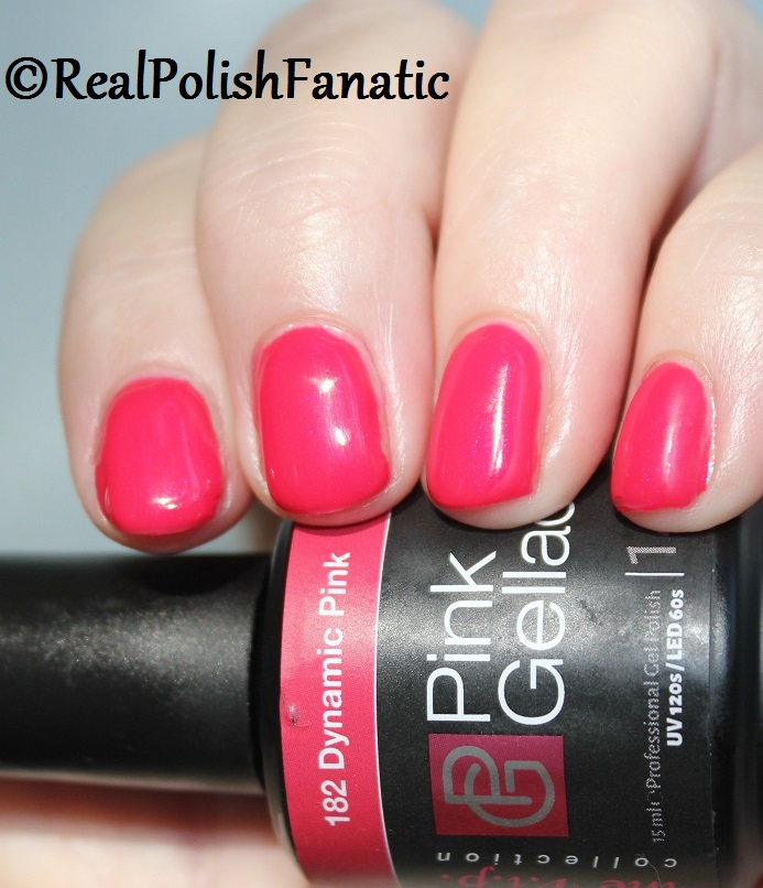 Pink Gellac Starter System Review with Dynamic Pink Gel Color (11)