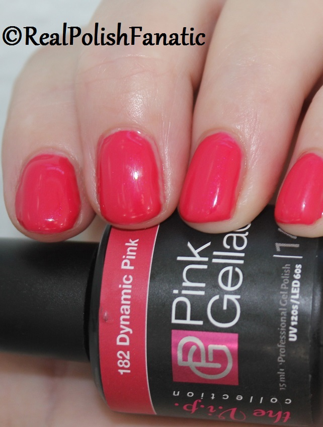 Pink Gellac Starter System Review with Dynamic Pink Gel Color (12)