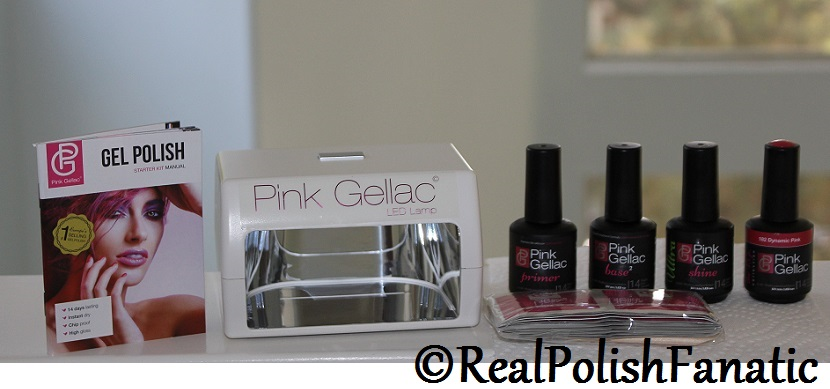 Pink Gellac Starter System Review with Dynamic Pink Gel Color (3)