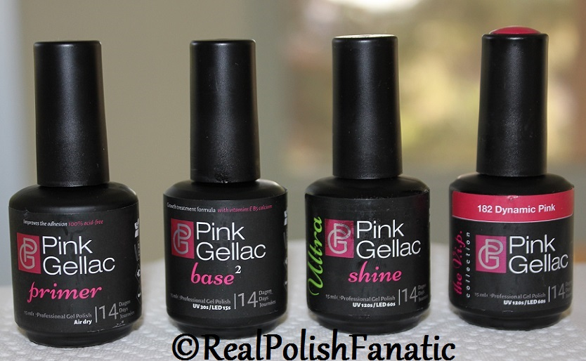 Pink Gellac Starter System Review with Dynamic Pink Gel Color (4)