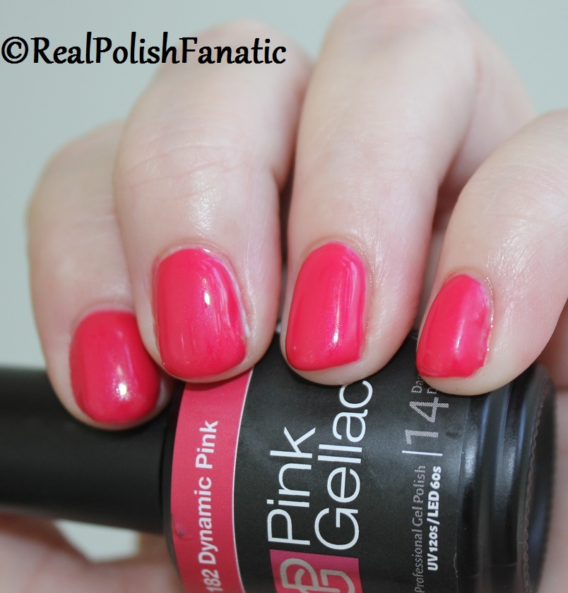 Pink Gellac Starter System Review with Dynamic Pink Gel Color (8)