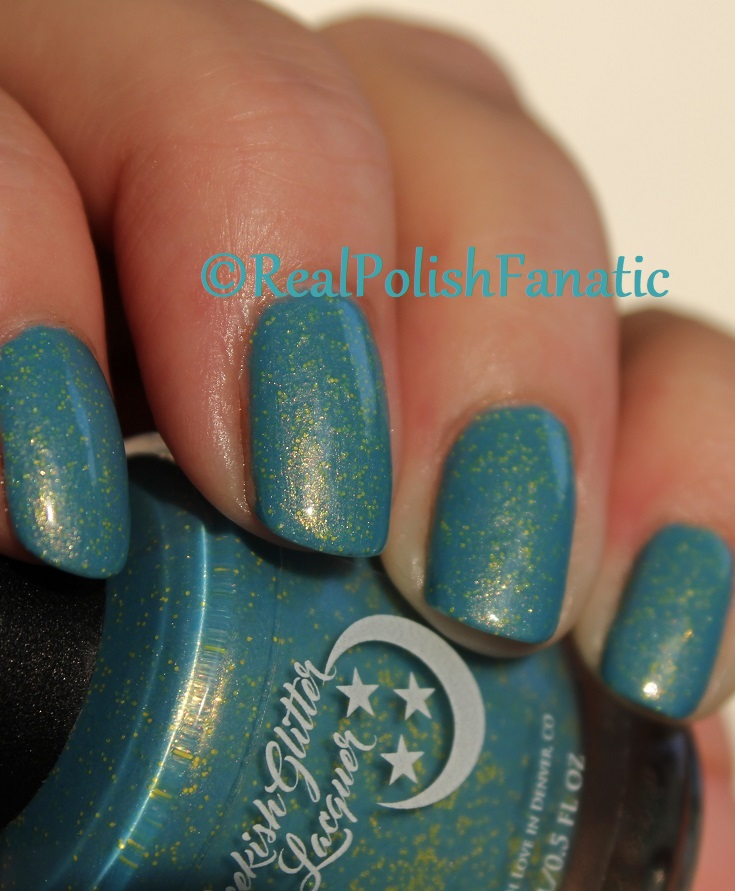 Geekish Glitter Lacquer - Keep Warm With Vault-tec! -- Bethesda Collab box with Bees Knees Lacquer (20)