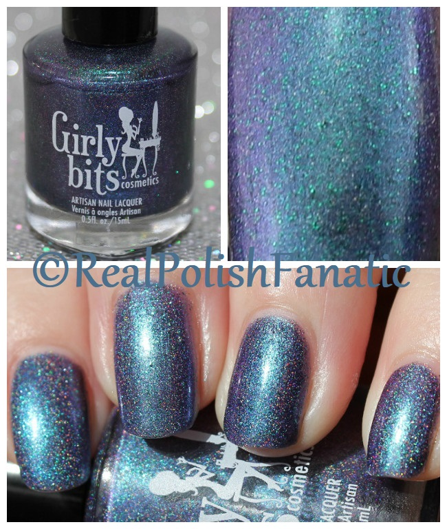 Girly Bits - Blue Year's Resolution -- COTM January 2018
