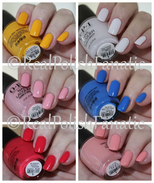 OPI Lisbon Collection - Spring 2018 Part 2
