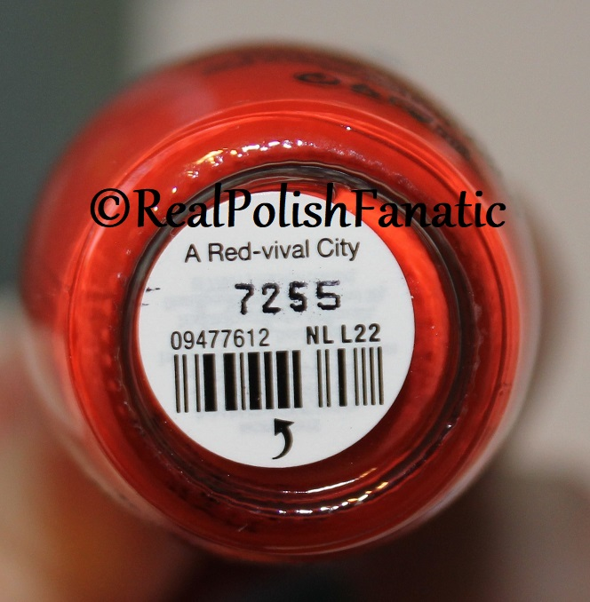 OPI Lisbon -- Spring 2018 -- A Red-vival City (2)