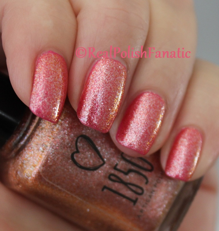 1850 Artisan Polish - Santa Monica Pier over Shleee Polish - Kiss Cam (19)
