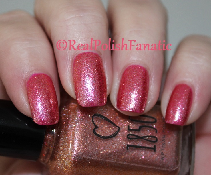 1850 Artisan Polish - Santa Monica Pier over Shleee Polish - Kiss Cam (3)