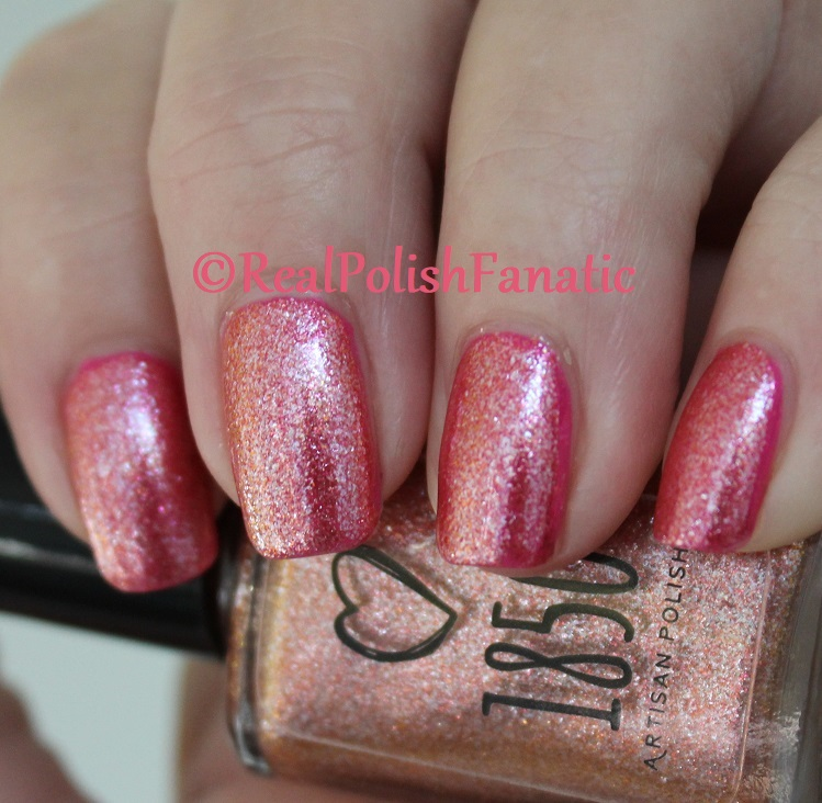 1850 Artisan Polish - Santa Monica Pier over Shleee Polish - Kiss Cam (8)